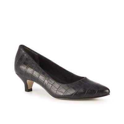 Walking Cradles ウォーキングクレイドル レディース 女性用 シューズ 靴 ヒール Bobbi - Black Dressy Croco
