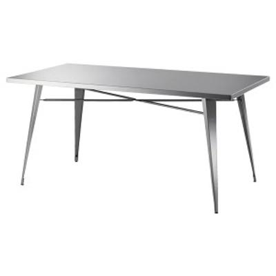 テーブル ダイニングテーブル ステンレス製 ( 送料無料 ダイニング 食卓テーブル 食卓 ステンレス 食卓テーブル 4人用 四人用 食卓 ダ