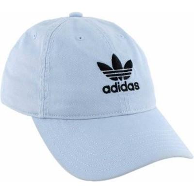 アディダス レディース 帽子 アクセサリー adidas Originals Women's Relaxed Strapback Hat Ice Blue
