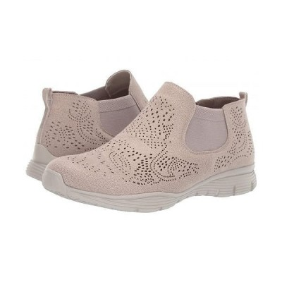 SKECHERS スケッチャーズ レディース 女性用 シューズ 靴 ブーツ チェルシーブーツ アンクル Seager - Rooky - Taupe