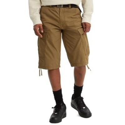 リーバイス メンズ カジュアルパンツ ボトムス Men's Regular-Fit Ripstop Messenger Shorts Cougar