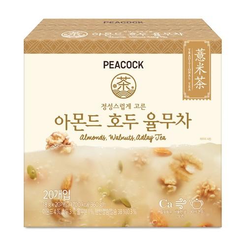 [PEACOCK] 核桃杏仁薏仁茶 (18gx20入)
