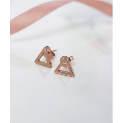 (ninon/ニノン)【6種展開】ステンレス製シンプル小ぶりピアス/レディース ピンクゴールド系5