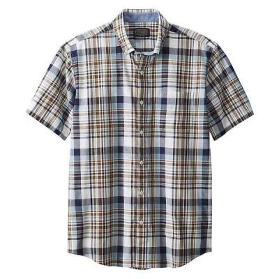 ペンドルトン メンズ シャツ トップス Pendleton Men's Madras SS Shirt