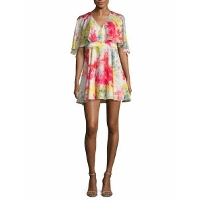 ジェイゴッドフリー レディース ワンピース Bronfman Floral Printed Flare Dress