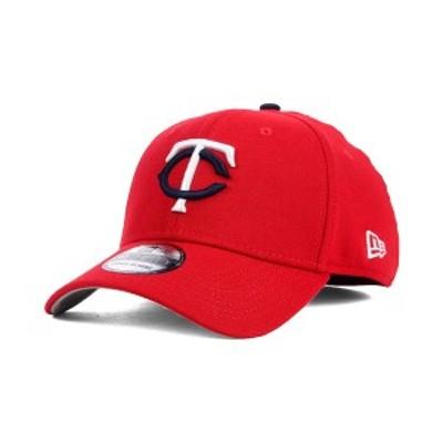 ニューエラ メンズ 帽子 アクセサリー Minnesota Twins Core Classic 39THIRTY Cap Red