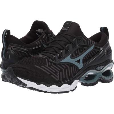 ミズノ Mizuno メンズ ランニング・ウォーキング シューズ・靴 Wave Creation C1 Knit Black/Stormy Weather