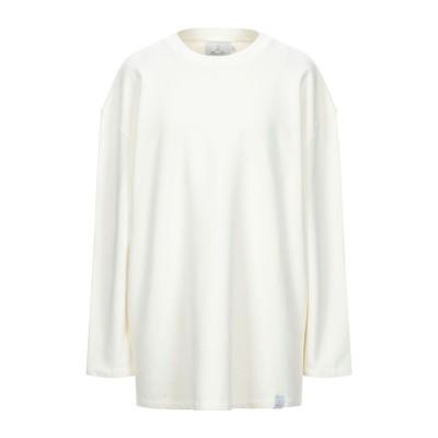ベルナ BERNA スウェットシャツ アイボリー 2 コットン 100% スウェットシャツ