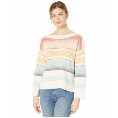 ペンドルトン ニット&セーター アウター レディース Horizon Cotton Stripe Sweater Chili Multi