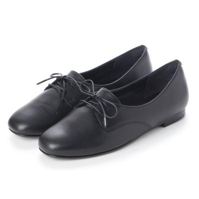 クートゥーフォロワーシューズ KuToo Follower Shoes ジェンダーフリー外羽根レースアップシューズ (ブラック)