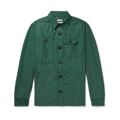 F.S.C. FREEMANS SPORTING CLUB シャツ グリーン XS コットン 52% / ナイロン 48% シャツ