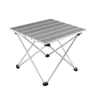 Yalufa ロールテーブル 折りたたみテーブル アウトドアテーブル 軽量 耐熱 アルミ製 コンパクト 酸化加工 防水防錆 収納袋付き 山登り/お釣り
