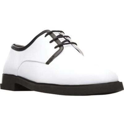 カンペール Camper レディース ローファー・オックスフォード シューズ・靴 Twins Oxford White Smooth Leather