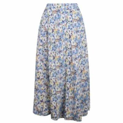 ラルフ ローレン Polo Ralph Lauren レディース ロング・マキシ丈スカート スカート Ralph Lauren Floral Maxi Skirt Blush/Blue Flrl