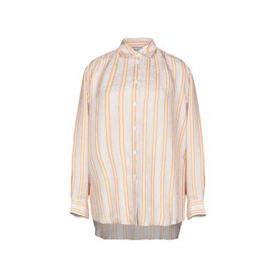 ポール & ジョー PAUL & JOE シャツ ライトグレー 2 シルク 100% シャツ