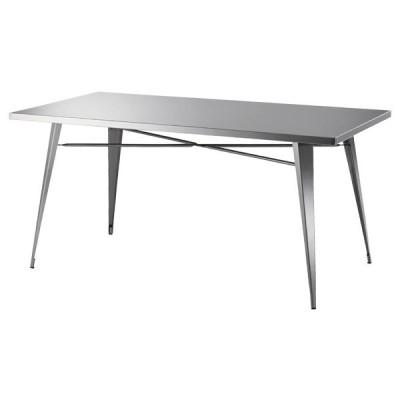テーブル ダイニングテーブル ステンレス製 ( ダイニング 食卓テーブル 食卓 )