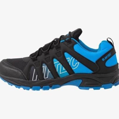 ハイテック メンズ 靴 シューズ WARRIOR - Hiking shoes - black/grey