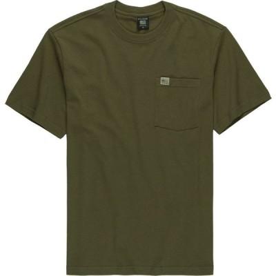 フィルソン Filson メンズ Tシャツ トップス Pioneer Solid One Pocket Fast Track T - Shirt Dark Olive