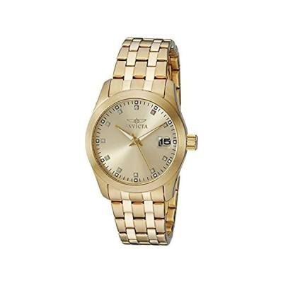 【新品・送料無料】Invicta Women's 21492 Wildflower 18k Gold Ion-Plated Stainless Steel Watch