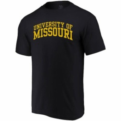 Alta Gracia アルタ グラシア スポーツ用品  Alta Gracia (Fair Trade) Missouri Tigers Black Arched Wordmark T-Shirt