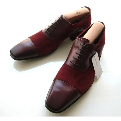 ハイストリート シューズ L 本革レザー ボルドー ストレートチップ 靴 高機能エアーコンフォートシステム 新品
