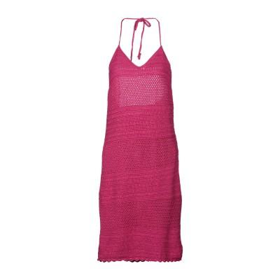 RALPH LAUREN BLACK LABEL ミニワンピース&ドレス フューシャ M コットン 100% ミニワンピース&ドレス