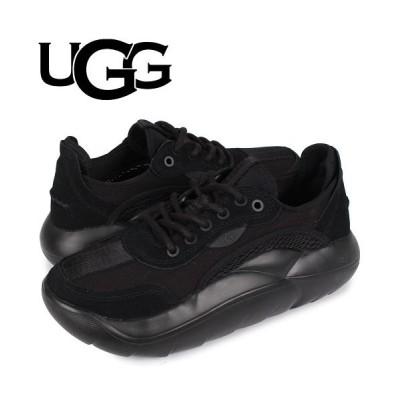 【スニークオンラインショップ】 UGG アグ スニーカー クラウド ロー レディース LA CLOUD LOW ブラック 黒 1107945 レディース その他 US7.5-24.5 SNEAK ONLINE SHOP