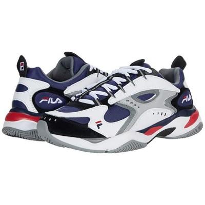 フィラ Boveasorus メンズ スニーカー 靴 シューズ Fila Navy/White/Monument