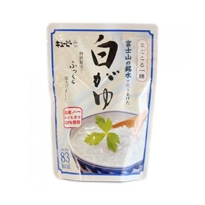 キユーピー まごころ一善 富士山の銘水 白がゆ 250g