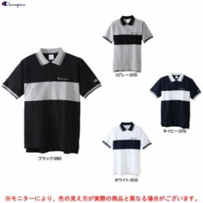 Champion(チャンピオン)ベーシック 半袖ポロシャツ(C3M354)ポロシャツ 半袖 カジュアル メンズ