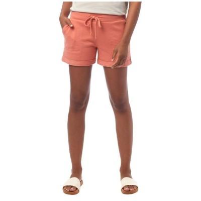 オルタナティヴ Alternative レディース ショートパンツ ボトムス・パンツ Lightweight French Terry Lounge Shorts Sunset Coral