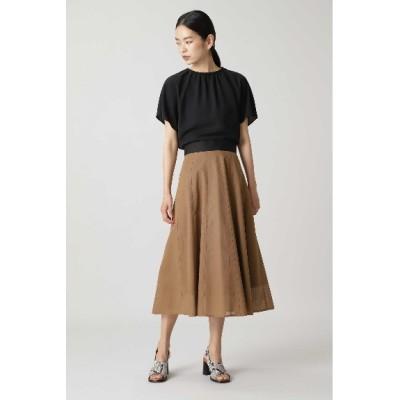 ADORE (アドーア) レディース コットンメッシュスカート キャメル1(041) 36