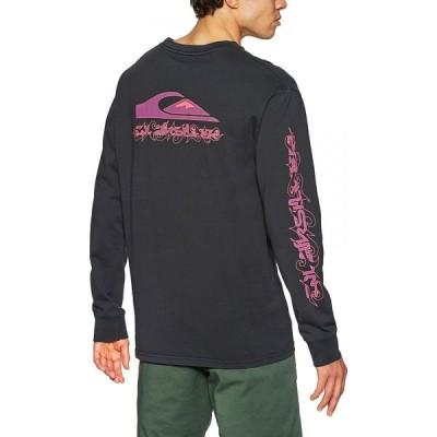 クイックシルバー Quiksilver メンズ 長袖Tシャツ トップス originals thornbush long sleeve t-shirt Black