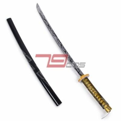 高品質 高級コスプレ道具 オーダーメイド 鬼滅の刃 風 獪岳(かいがく)タイプ 剣(模造)刀