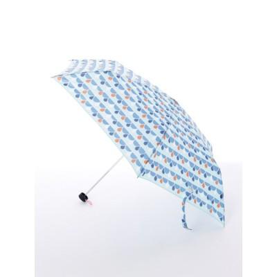 LINE DROPS (ラインドロップス) レディース 【korko(コルコ)】軽量スリム折り畳み傘【ドロップブルー】 ドロップブルー ONESIZE