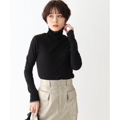 AG by aquagirl / ハイネックリブニットソープルオーバー WOMEN トップス > Tシャツ/カットソー