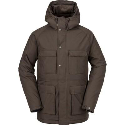 ボルコム Volcom メンズ ジャケット アウター renton winter 5k jacket Major Brown