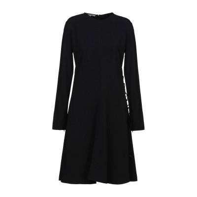 ステラ マッカートニー STELLA McCARTNEY ミニワンピース&ドレス ブラック 36 レーヨン 64% / アセテート 32% / ポリ