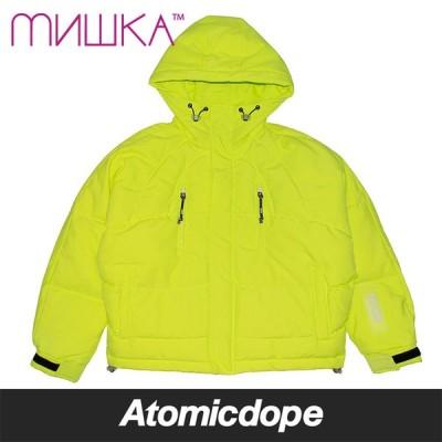 ミシカ MISHKA ETD ダウン ジャケット ライムグリーン イエロー 緑 黄 DOWN JACKET LimeGreen Yellow