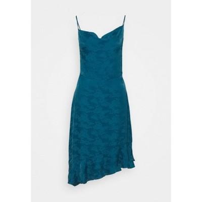 ナフ ナフ ワンピース レディース トップス SLEEPY - Cocktail dress / Party dress - esylvestre duck blue