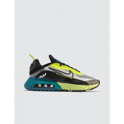 ナイキ Nike メンズ スニーカー シューズ・靴 air max 2090 White/Black/Volt-Blue