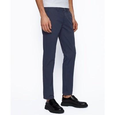 ヒューゴボス カジュアルパンツ ボトムス メンズ BOSS Men's Schino Slim-Fit Trousers Dark Blue