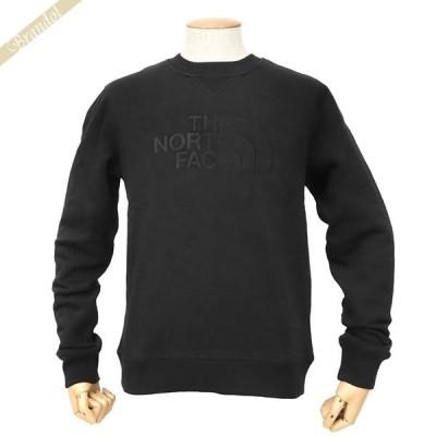 ザ・ノースフェイス THE NORTH FACE スウェット メンズ ロゴ Drew Peak Crew XS/S/M/L ブラック NF0A4SVR JK3