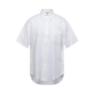 ブルックス ブラザーズ BROOKS BROTHERS シャツ ホワイト S リネン 100% シャツ