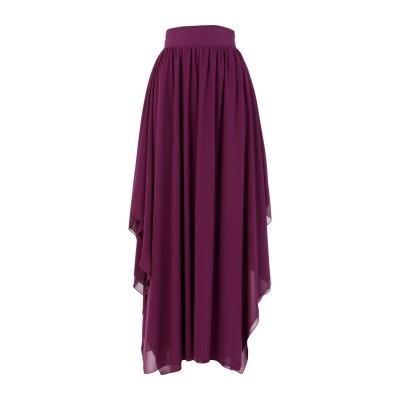 コッカ KOCCA ロングスカート パープル 40 ポリエステル 100% ロングスカート