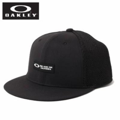 オークリー 帽子 キャップ メンズ ESSENTIAL FLAT BRIM CAP エッセンシャルフラット ブリム FOS900689-02E OAKLEY od