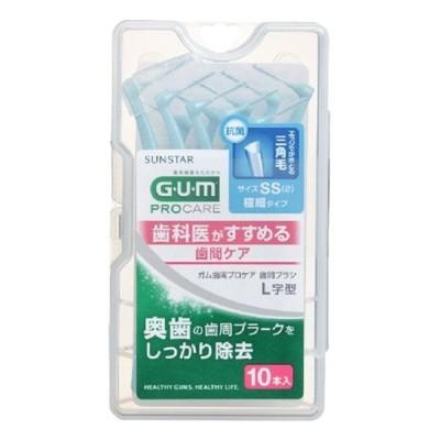 サンスター GUM歯間ブラシL字SS10本入