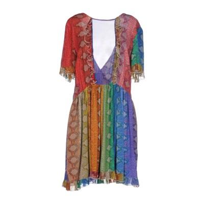 ジャストカヴァリ JUST CAVALLI ミニワンピース&ドレス グリーン 40 レーヨン 100% ミニワンピース&ドレス
