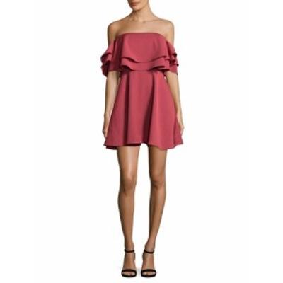 キープセイク レディース ワンピース Two Fold Flounced Flared Dress