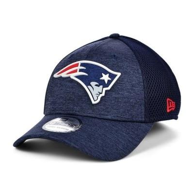 ニューエラ 帽子 アクセサリー レディース New England Patriots Shadow Tech Rubber Neo 39THIRTY Cap Navy